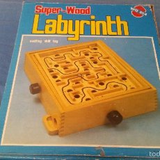 Juegos de mesa: LABYRINTH - SUPER WOOD - LABERINTO MADERA - COMPLETO - WQ 014. Lote 58586124