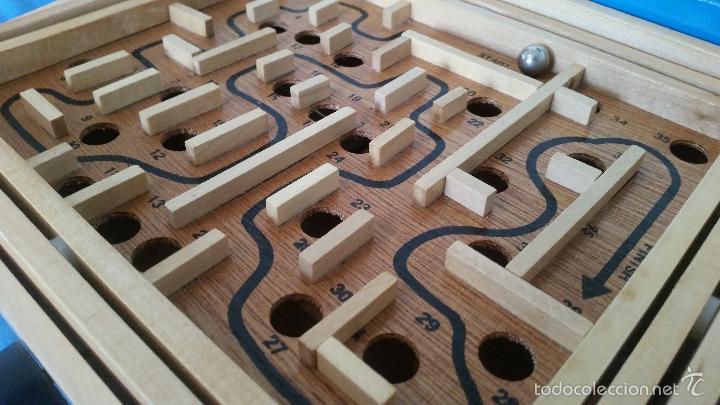 Juegos de mesa: Labyrinth - Super Wood - Laberinto madera - Completo - WQ 014 - Foto 2 - 58586124