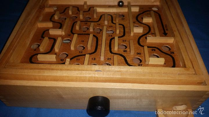 Juegos de mesa: Labyrinth - Super Wood - Laberinto madera - Completo - WQ 014 - Foto 3 - 58586124