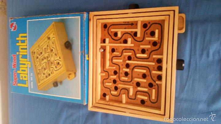 Juegos de mesa: Labyrinth - Super Wood - Laberinto madera - Completo - WQ 014 - Foto 4 - 58586124