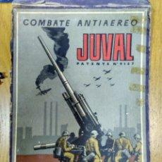 Juegos de mesa: JUEGO DE MESA COMBATE ANTIAEREO JUVAL AÑOS '40. Lote 58602771