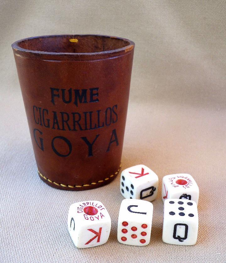 Juego De Mesa Dados Poker Publicidad Fume Cig Comprar Juegos De