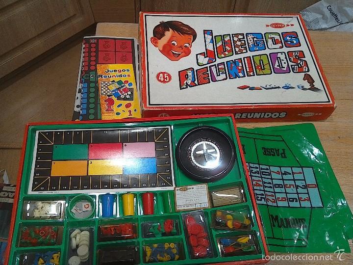 Juegos Reunidos Geyper N 45 Comprar Juegos De Mesa Antiguos En