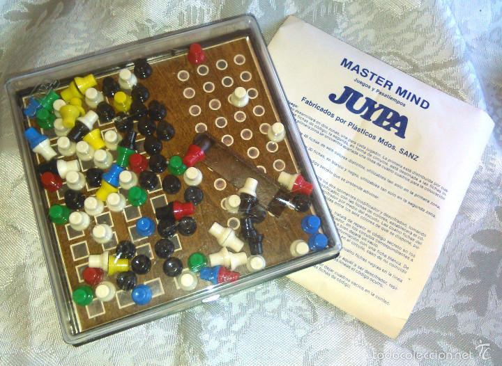 JUEGO MAGNÉTICO DE MESA MASTER MIND. ANTIGUO, PARA VIAJE. AÑOS 70. PARA TODA LA FAMILIA. (Juguetes - Juegos - Juegos de Mesa)