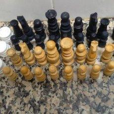 Juegos de mesa: JUEGO DE AJEDREZ Y DAMAS. Lote 59452770