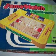 Juegos de mesa: FAMOMATCH BALONCESTO FAMOSA JUEGO BALONCESTO AÑOS 70. Lote 59531627