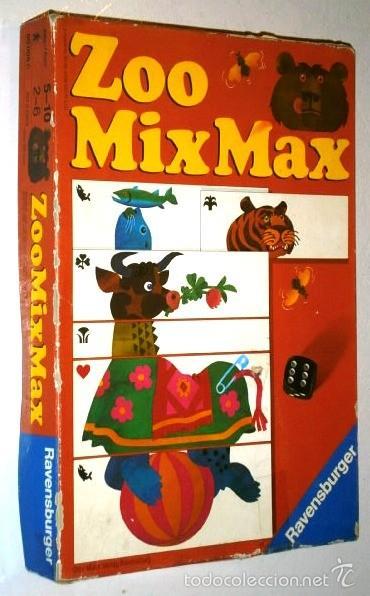 Zoo Mixmax De Ravensburger Con Cartas Para Nino Comprar Juegos De