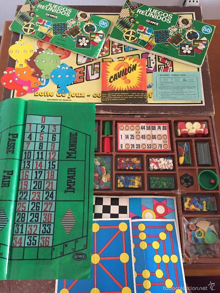 Juegos Reunidos 55 Geyper Comprar Juegos De Mesa Antiguos En