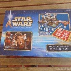 Juegos de mesa: JUEGO DE MESA STAR WARS RESCUE ON GEONOSIS BARDGAME INCOMPLETO. Lote 59777672