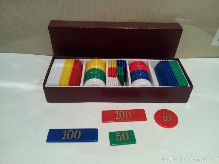 Juegos de mesa: caja de fichas para poker muy buen estado ver fotos - Foto 2 - 59828812