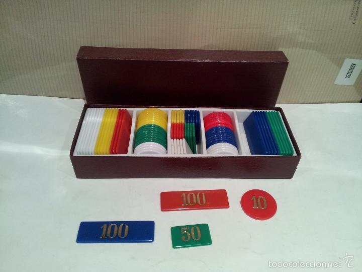 Juegos de mesa: caja de fichas para poker muy buen estado ver fotos - Foto 3 - 59828812