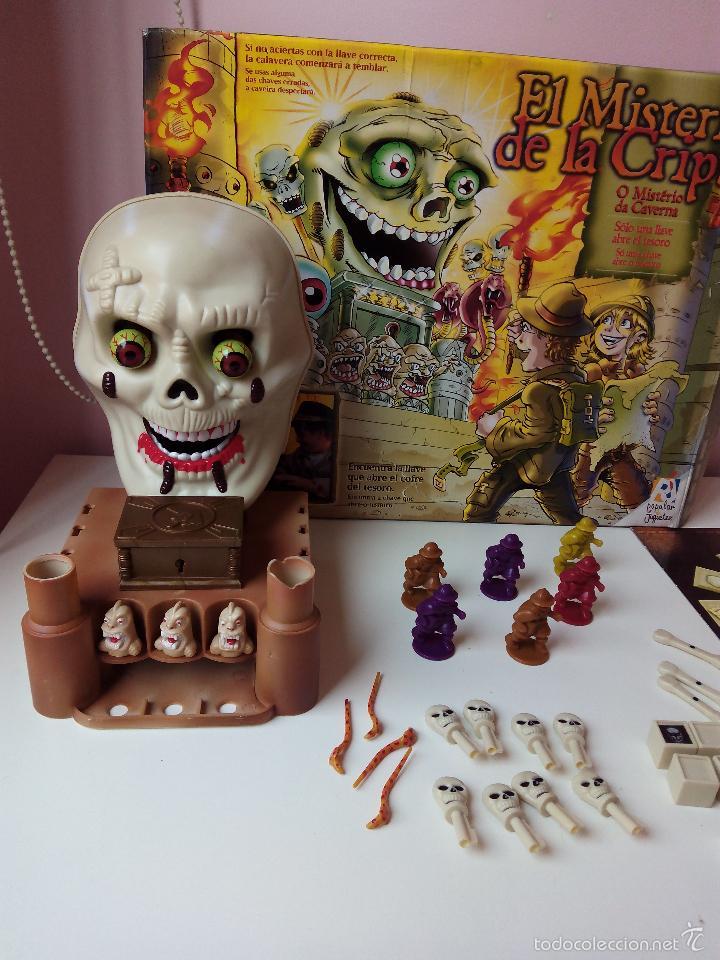 Juego De Mesa El Misterio De La Cripta Popular Comprar Juegos De