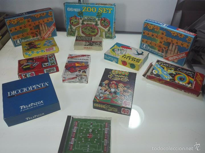 Gran Lote De 12 Juegos De Mesa Variados Taman Comprar Juegos De