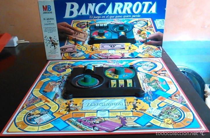 Juego De Mesa Bancarrota De Mb De Los Anos 80 Comprar Juegos De