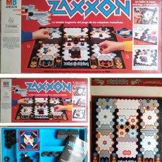 Juegos de mesa: JUEGO DE MESA ZAXXON DE MB JUEGOS. AÑOS 80. COMPLETO. DE LA CLÁSICA RECREATIVA.. Lote 60437295