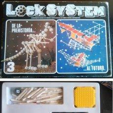 Juegos de mesa: JUEGO EDUCATIVO DE LOS AÑOS 80, LOCK SYSTEM. FALOMIR JUEGOS. COMPLETO.. Lote 60450891