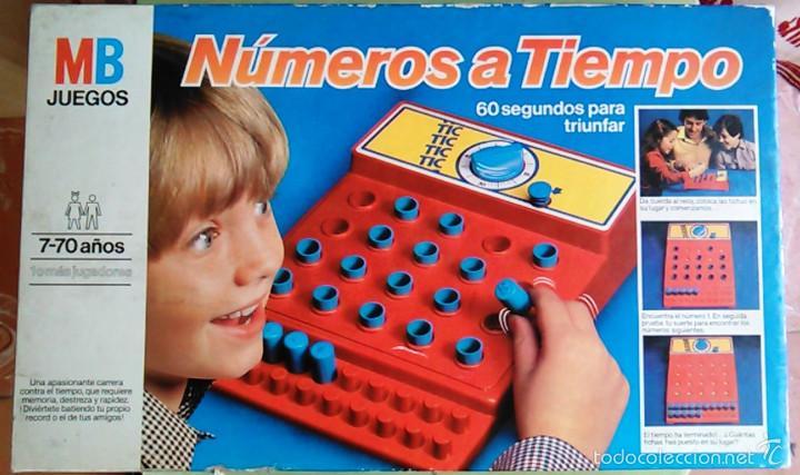 Juego De Mesa Numeros A Tiempo De Mb Juegos An Comprar Juegos De
