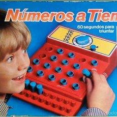 Juegos de mesa: JUEGO DE MESA NÚMEROS A TIEMPO DE MB JUEGOS. AÑOS 80. A CONTRARELOJ. ANTIGUO.. Lote 70037666