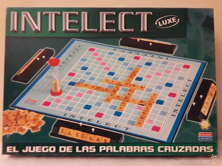 Intelect El Juego De Las Palabras Cruzadas Comprar Juegos De