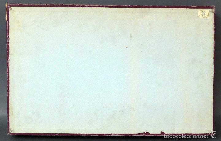 Juegos de mesa: Halma juego mesa francés estrategia tablero peones y reglas juego años 30 - Foto 6 - 61005051