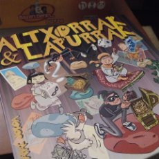 Juegos de mesa: JUEGO EN EUSKERA ALTXORRAK & LAPURRAK. Lote 61296431