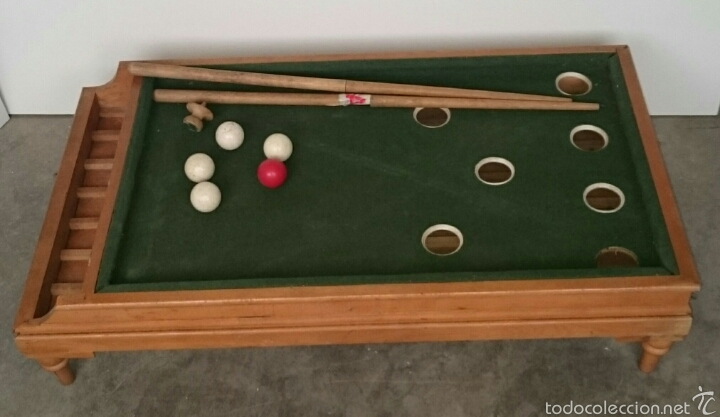 ANTIGUO BILLAR INFANTIL (Juguetes - Juegos - Juegos de Mesa)