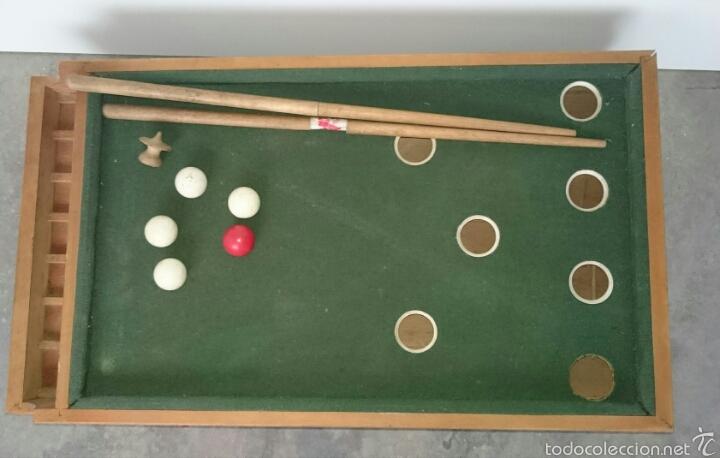 Juegos de mesa: ANTIGUO BILLAR INFANTIL - Foto 3 - 61300775