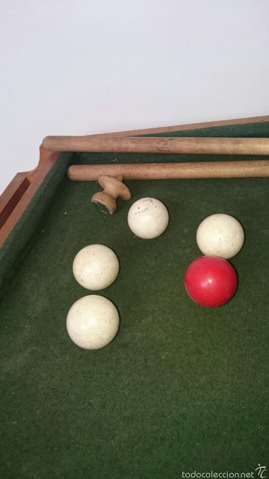 Juegos de mesa: ANTIGUO BILLAR INFANTIL - Foto 4 - 61300775