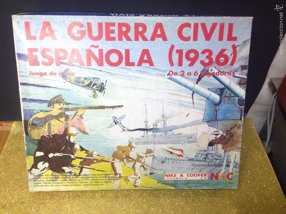 Juego La Guerra Civil Espanola Completo Comprar Juegos De Mesa