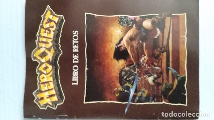 Heroquest Libro De Retos Comprar Juegos De Mesa Antiguos En