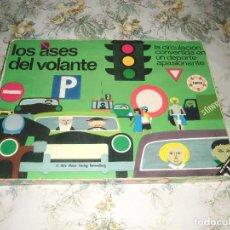 Juegos de mesa: JUEGO EDUCATIVO DE CIRCULACIÓN - LOS ASES DEL VOLANTE (EDUCA, AÑOS 70) - USADO. Lote 61608820