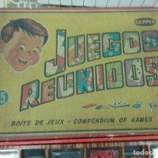 Juegos de mesa: 35 JUEGOS REUNIDOS GEIPER. . Lote 61690540