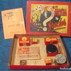 Juegos de mesa: JUEGO DE MAGIA. LECCION 0. LECCIONES PRACTICAS DE MAGIA FREDER. Lote 62047992