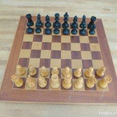 Juegos de mesa: AJEDREZ STAUNTON 4 DE MADERA AÑOS 50. Lote 173717735