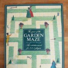 Juegos de mesa: JUEGO DE MESA INGLÉS GARDEN MAZE. Lote 62199156