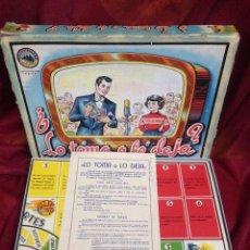 Juegos de mesa: (J,C) JUEGO LO TOMA O LO DEJA DE BORRAS AÑOS 60. Lote 62291980