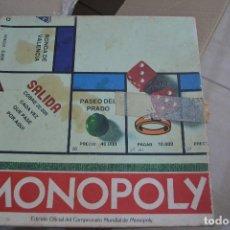 Juegos de mesa: MONOPOLY CAMPEONATO MUNDIAL . Lote 62383204