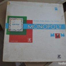 Juegos de mesa: MONOPOLY PARKER ESPAÑA . Lote 62385128