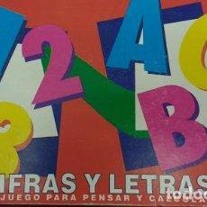 Juegos de mesa: CIFRAS Y LETRAS. Lote 62420572