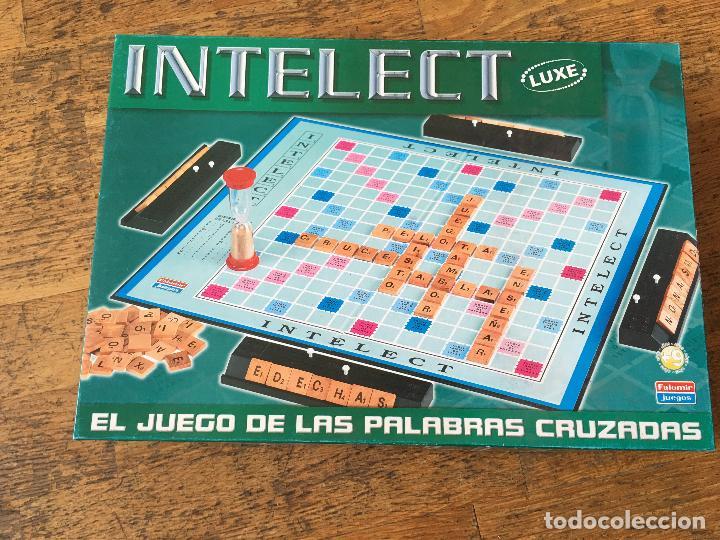 Intelect Luxe Juego De Palabras Cruzadas Falo Comprar Juegos De
