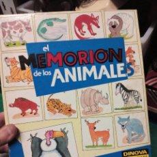 Juegos de mesa: JUEGO DE MESA MEMORION ANIMALES. Lote 190807076