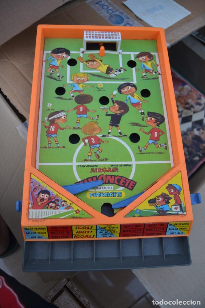Pinball flipper milloncete futbolcete de airgam comprar for Pinball de mesa