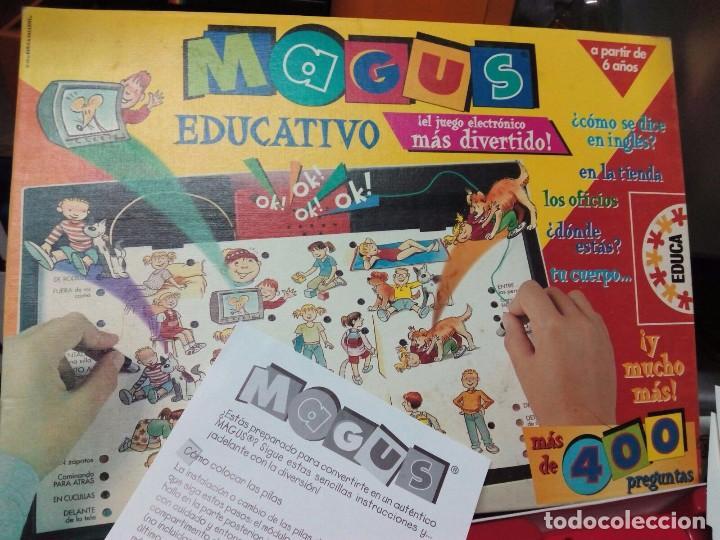 Juego De Mesa Magus Educativo Comprar Juegos De Mesa Antiguos En