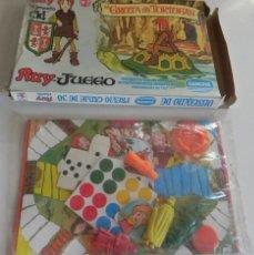Juegos de mesa: RUY EL PEQUEÑO CID - DANONE LA GRUTA DE LAS TORTUGAS - JUEGO MESA JUGUETE VINTAGE AÑOS 80 TV FIGURAS. Lote 62953255