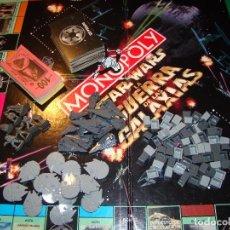 Juegos de mesa: MONOPOLY STAR WARS - EDICIÓN COLECCIONISTA - TABLERO, CARTAS Y PIEZAS SUELTAS PARA COMPLETAR . Lote 128494324