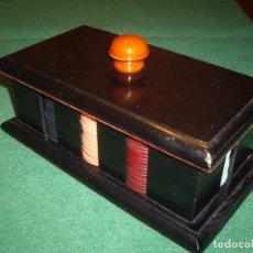 Juegos de mesa: FICHAS DE JUEGO AÑOS 30-40. Lote 63164664