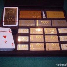 Juegos de mesa: ESTUCHE DE POCKER PIERRE CARDEIN. Lote 63165704