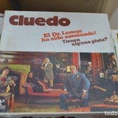 Juegos de mesa: CLUEDO DE BORRAS . Lote 63204428