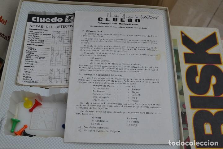 Juegos de mesa: cluedo de borras - Foto 3 - 63204428