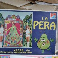 Juegos de mesa: JUEGO DE MESA LA PERA . Lote 63208520